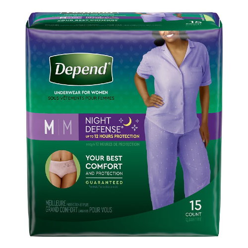 3600047918 Depend Night Defense Women
