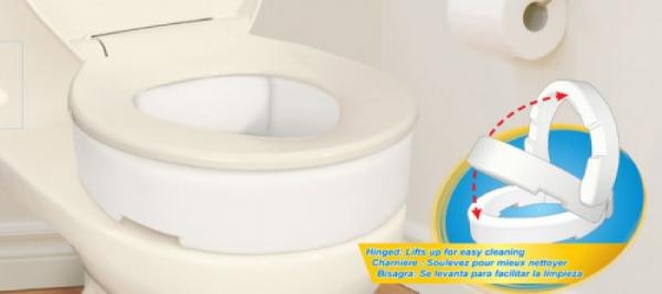 5402121625 Toilet Seat - Elongated - 3.5 hinged