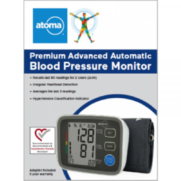 7774711116 Blood Pressure Monitor Advanced Automatic
